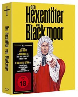 Der Hexentöter von Blackmoor (5 Disc Limited Mediabook, 2 Blu-ray's+2 DVDs+CD) (1969) [FSK 18] [Blu-ray]