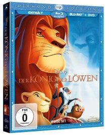 Der König der Löwen (Diamond Edition) (+DVD) (1994) [Blu-ray]