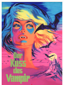 Der Kuss des Vampirs (3 Disc Limited Mediabook, Blu-ray+2 DVDs, Cover A) (1963) [Blu-ray]