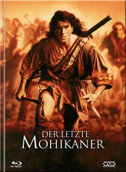 Der letzte Mohikaner (Limited Mediabook, 3 Blu-ray's+DVD, Cover A) (1992) [Blu-ray]
