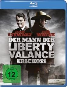 Der Mann, der Liberty Valance erschoss (1962) [Blu-ray]