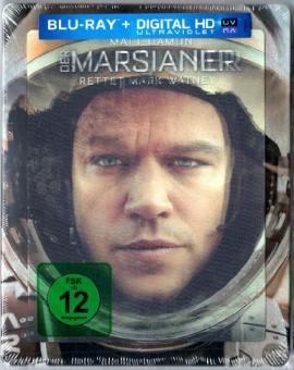 Der Marsianer - Rettet Mark Watney (Limited 3D Lenticular Steelbook, 3D Blu-ray+Blu-ray) (2015) [3D Blu-ray]