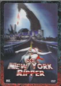 Der New York Ripper (Metalpak mit 3D-Hologramm Cover) (1982) [FSK 18]