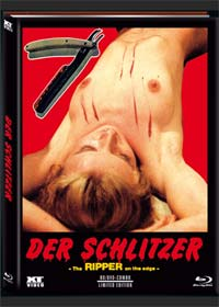 Der Schlitzer - House on the Edge of the Park (Limited Mediabook, Blu-ray+DVD, Cover A) (1980) [FSK 18] [Blu-ray]