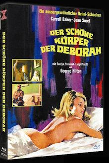 Der Schöne Körper der Deborah (Limited Mediabook, Blu-ray+DVD, Cover A) (1968) [FSK 18] [Blu-ray]
