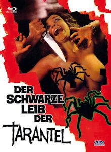 Der schwarze Leib der Tarantel (Limited Mediabook, Blu-ray+DVD, Cover A) (1972) [FSK 18] [Blu-ray]