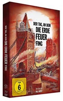 Der Tag, an dem die Erde Feuer fing (Limited Mediabook, Blu-ray+DVD) (1961) [Blu-ray]