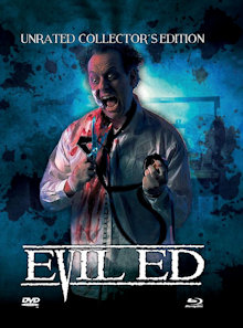 Evil Ed (Limited Mediabook, Blu-ray+DVD, Cover C) (1995) [FSK 18] [Blu-ray]