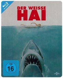 Der weisse Hai (Limited Steelbook Edition) (1975) [Blu-ray] [Gebraucht - Zustand (Sehr Gut)]
