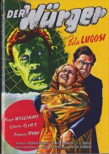 Der Würger (Kleine Hartbox, Cover B) (1939)