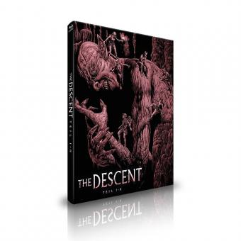 The Descent 1+2 (Limited Mediabook, 2 Discs, Cover B) [FSK 18] [Blu-ray]