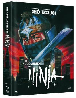 Die 1000 Augen der Ninja (Limited Mediabook, Blu-ray+DVD, Cover A) (1985) [FSK 18] [Blu-ray]