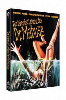 Die lebenden Leichen des Dr. Mabuse (Limited Mediabook, Blu-ray+DVD, Cover C) (1970) [Blu-ray]