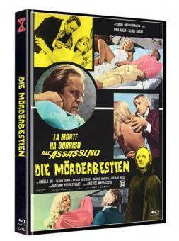 Die Mörderbestien (Limited Mediabook, Blu-ray+DVD, Cover B) (1972) [FSK 18] [Blu-ray]