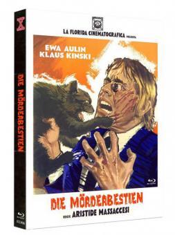 Die Mörderbestien (Limited Mediabook, Blu-ray+DVD, Cover A) (1972) [FSK 18] [Blu-ray]