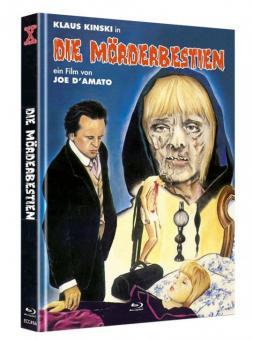 Die Mörderbestien (Limited Mediabook, Blu-ray+DVD, Cover C) (1972) [FSK 18] [Blu-ray]