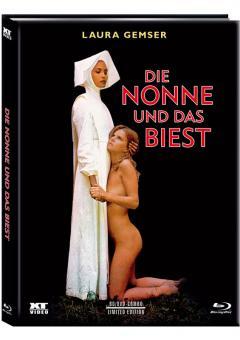 Die Nonne und das Biest (Limited Mediabook, Blu-ray+DVD, Cover A) (1977) [FSK 18] [Blu-ray]