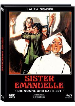 Die Nonne und das Biest (Limited Mediabook, Blu-ray+DVD, Cover B) (1977) [FSK 18] [Blu-ray]