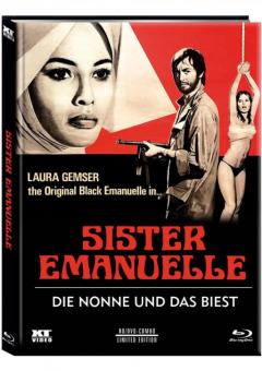 Die Nonne und das Biest (Limited Mediabook, Blu-ray+DVD, Cover C) (1977) [FSK 18] [Blu-ray]