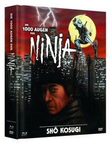 Die 1000 Augen der Ninja (Limited Mediabook, Blu-ray+DVD, Cover B) (1985) [FSK 18] [Blu-ray]