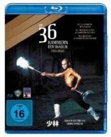 Die 36 Kammern der Shaolin - Trilogie [Blu-ray]