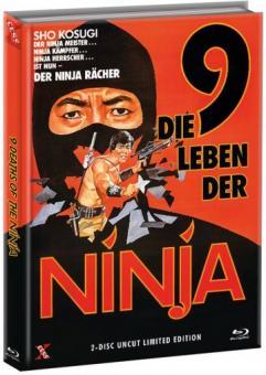 Die 9 Leben der Ninja (Limited Mediabook, Blu-ray+DVD, Cover A) (1985) [FSK 18] [Blu-ray]