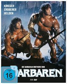 Die Barbaren (Limited Mediabook, Blu-ray+2 DVDs, Cover B) (1987) [Blu-ray]