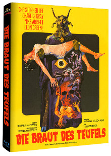 The Devil Rides Out (Limited Mediabook, 2 Discs, Cover B) (1968) [Blu-ray]