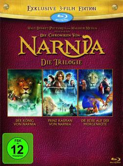 Die Chroniken von Narnia Die Trilogie [Blu-ray]