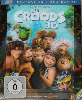 Die Croods (Limited Steelbook, 3D Blu-ray+Blu-ray) (2013) [3D Blu-ray]