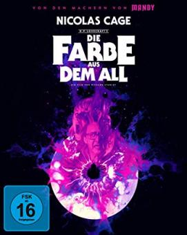 Die Farbe aus dem All - Color Out of Space (Limited Mediabook, 4K Ultra HD+2 Blu-ray's, Cover A) (2019) [4K Ultra HD]