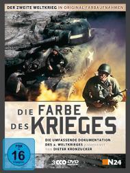 Die Farbe des Krieges - Der Zweite Weltkrieg in original Farbaufnahmen (3 DVDs)