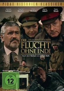 Die Flucht ohne Ende - der komplette 4-Teiler (2 DVDs) (1986)