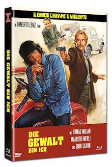 Die Gewalt bin ich (Limited Mediabook, Blu-ray+DVD, Cover A) (1977) [FSK 18] [Blu-ray]