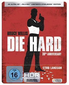 Stirb langsam (4K Ultra HD+Blu-ray, Limited Steelbook) (1988) [4K Ultra HD]
