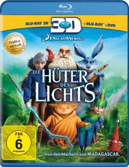 Die Hüter des Lichts (Blu-ray + 3D Blu-ray) (2012) [3D Blu-ray]