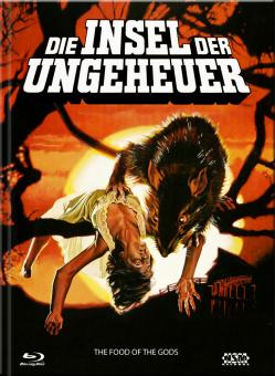 Die Insel der Ungeheuer (Limited Mediabook, Blu-ray+DVD, Cover A) (1976) [Blu-ray]