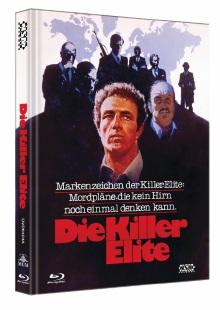 Die Killer Elite (Limited Mediabook, Blu-ray+DVD, Cover A) (1975) [Blu-ray]