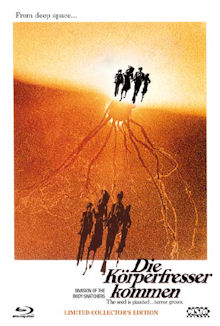 Die Körperfresser kommen (Limited Mediabook, Blu-ray+DVD, Cover A) (1978) [Blu-ray]