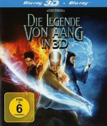 Die Legende Von Aang (3D Blu-ray) (Steelbook) (2010) [3D Blu-ray]