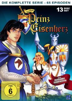 Die Legende von Prinz Eisenherz - Gesamtbox (13 Discs) (1991)