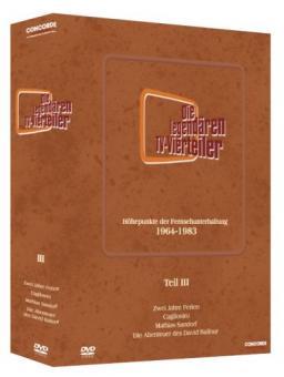 Die legendären TV-Vierteiler - Box 3 (8 DVDs)