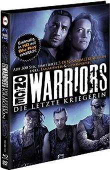 Once Were Warriors - Die letzte Kriegerin (3 Disc Limited Mediabook, Blu-ray+2 DVDs, Cover B, Fan-Edition) (1994) [Blu-ray]