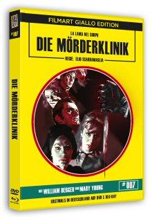 Die Mörderklinik (Limited Edition, Blu-ray+DVD) (1966) [FSK 18] [Blu-ray]