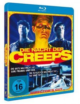 Die Nacht der Creeps (Director's Cut) (1986) [Blu-ray]