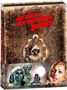 Die Nacht der reitenden Leichen (Limited Wattiertes Mediabook, 2 Blu-ray's+DVD) (1971) [FSK 18] [Blu-ray]