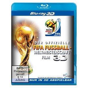 Der offizielle FIFA Fussball-Weltmeisterschaft Film (3D Version) (2010) [3D Blu-ray]