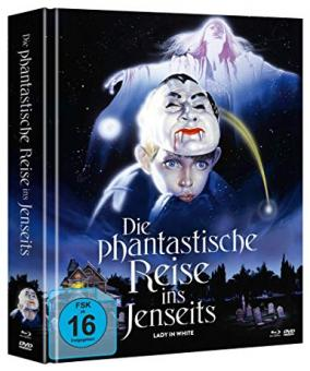 Die phantastische Reise ins Jenseits (Limited Mediabook, 2 Blu-ray's+DVD, Cover A) (1988) [Blu-ray]