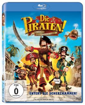 Die Piraten - Ein Haufen merkwürdiger Typen (2012) [Blu-ray]