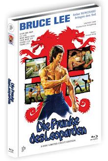Bruce Lee - Die Pranke des Leoparden (Limited Uncut Mediabook, Blu-ray+DVD, Cover A) (1976) [FSK 18] [Blu-ray]